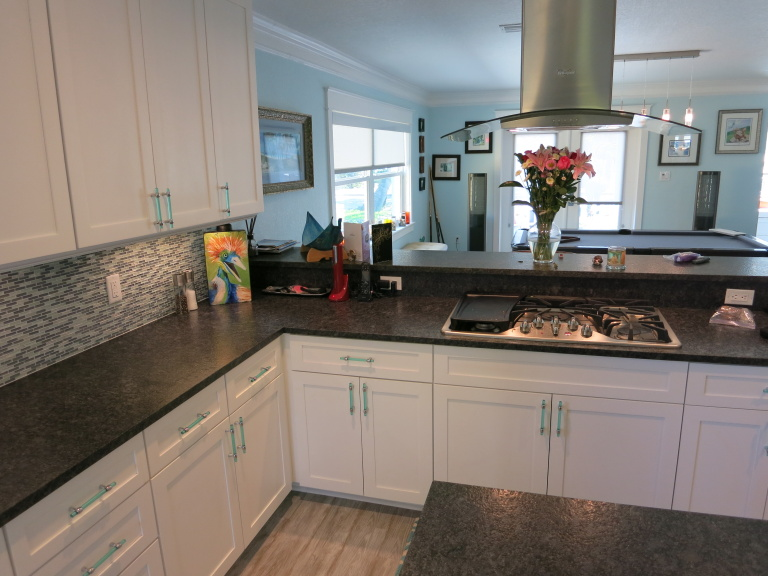 St. Petersburg Beach Home Kitchen Remodel